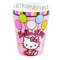 Стаканы Hello Kitty, 8 шт