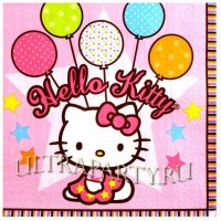 Салфетки Hello Kitty, 16 шт